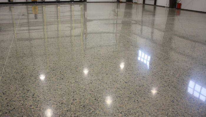 Polished Concrete: How It's Made